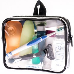 TSA Approved Toiletry Bag 3-1-1 with Pocket